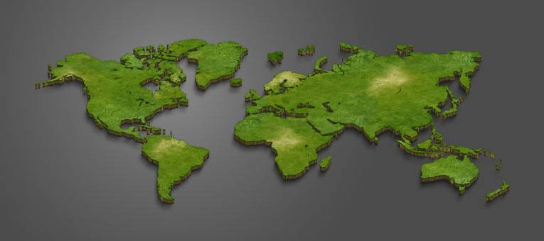 Ile jest kontynentów na Ziemi? Spis i mapa kontynentów